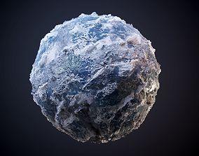 3D Glacier Ice Snow Seamless PBR Texture