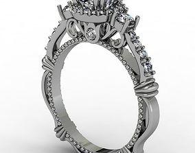 3D print model Fantasy luxury engagement ring