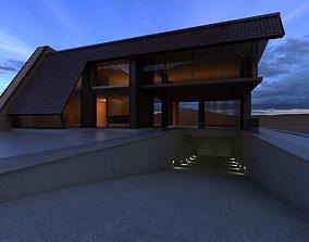 3D model Volan house