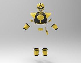 White Ranger MMPR full suit for 3D Print