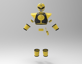 White Ranger MMPR full suit for 3D Print