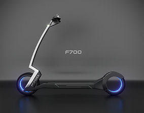 3D model scooter F700