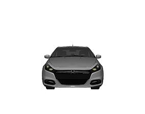 DODGE DART GT 2013 3D asset