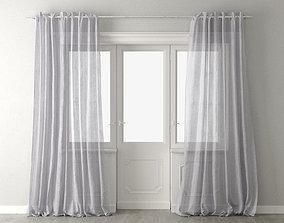 3D model Antilia Curtains