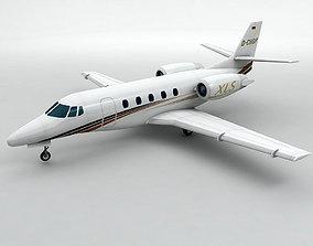 Cessna Citation XLS Aircraft 3D model
