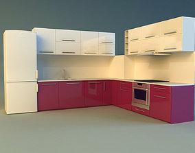 cook 3D model Kitchen