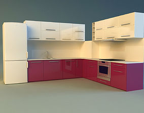cook 3D model Kitchen