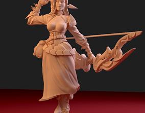 3D print model Huntress