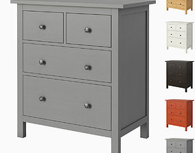 HEMNES 4-drawer chest hemnes 3D model