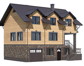 3D model Cottage 25