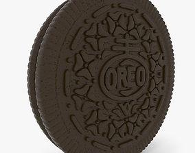 3D High Detail Oreo Cookie