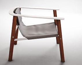 Jardan Roger armchair 3D
