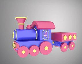 3D asset Locomotive