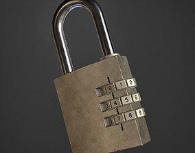 Code Lock 3D asset