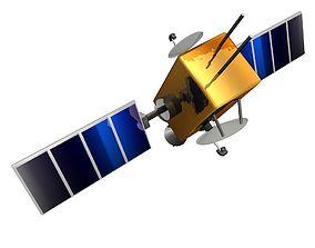 satellite 3D Model star