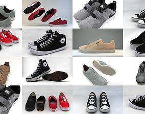 3D model Casual Shoes collection