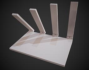3D asset Wi-Fi Router Huawei WS5200 White