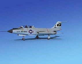 McDonnell F-101B Voodoo V07 3D model