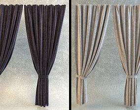 cloth 3D model Curtains