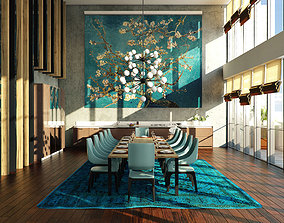 Sketchup Dining Room 3D
