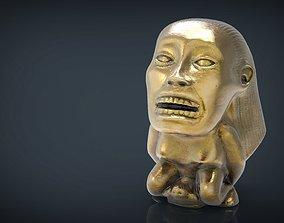 Indiana Jones Fertility Idol Statue 3D model