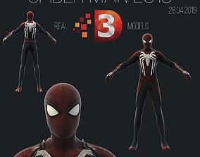 realtime Spider Man 2019 3D models Low Poly