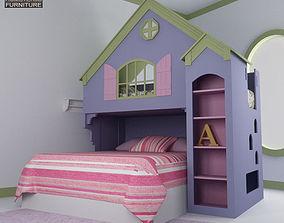 Nursery Room 05 Set 3D asset