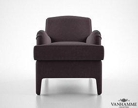 3D model Vanhamme Channel armchair
