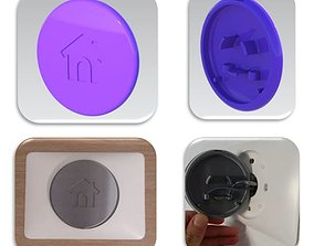 3D printable model COVER NEST THERMOSTAT
