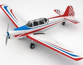 3D model Zlin 526 F