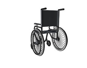 wheelchair 3D model other