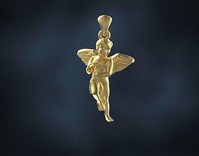 3D print model angels angel pendant