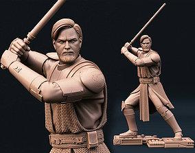 General Obi Wan Kenobi Star Wars 3D print model