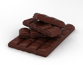 3D model Chocolate Bar