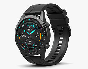 Huawei Watch GT 2 Black 3D
