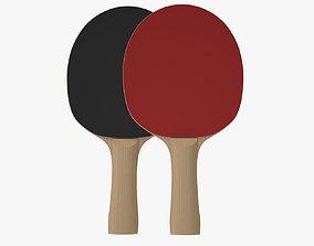 Ping Pong Paddle ping-pong 3D model