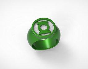 Green Lantern Ring 3D print model in-brightest-day