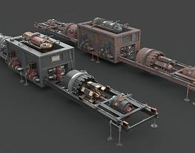 Machinery device 3D asset