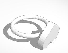 Love ring 3D printable model
