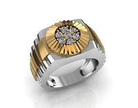 Rolex ring 3D print model