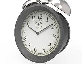 3D model game-ready alarm clock
