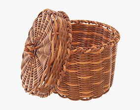 3D Small wicker box