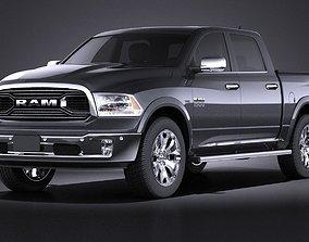 3D model Dodge RAM 1500 Laramie Limited 2015 VRAY