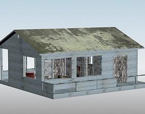 old beach house 3D model