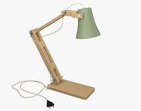 poly Desk Lamp 3D