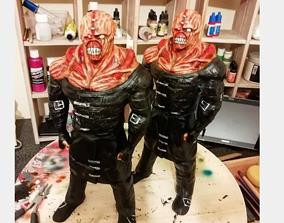 Resident Evil Nemesis 3D Printable Model