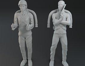 James Bond jetpack 3D printable model