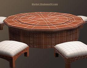 Arabic Furniture Table 3D model