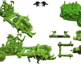direboar 3D printable model Dire Boar Chariot