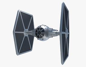 3D Star Wars TIE-Fighter